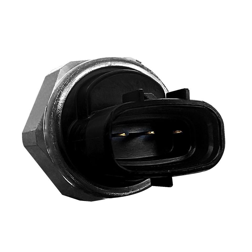 Sensor Pressão de Combustível  Rail Common ou Flauta Hilux 3 pinos 2.5  Ano 2005 a 2011 Euro 3