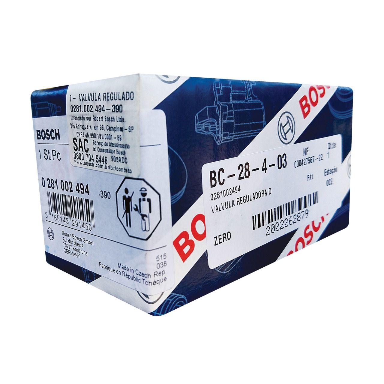 Válvula Reguladora da Flauta  ML 350 CDI 4MATIC / ML 320 CDI CDI 4MATIC  e Grand Cherokee 3.0 CRD 0281002494