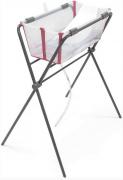 Banheira com suporte flexível Transparente rosa - Stokke