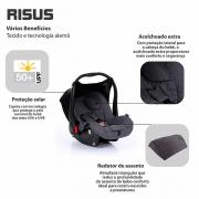 Bebê conforto Risus Asphalt Diamante - Abc Design