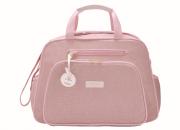 Bolsa de maternidade rosa coleção prática - Pirulitando Baby