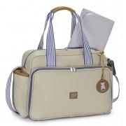 Bolsa maternidade de passeio e mochila Marfim - Kit Coleção Classic - MB Baby