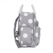 Bolsa maternidade térmica Everyday Bubble Cinza - Masterbag Baby