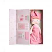 Boneca Metoo Angela Fashion (sem roupa) Vem com caixa especial + travesseiro + colchão e cobertor