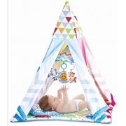 Cabana Infantil e Tapete de Atividade Musical Rosa - Color Baby