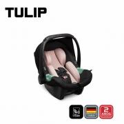 Carrinho com Bebê conforto Tulip Salsa 4 Rose Gold Diamond - Abc Design