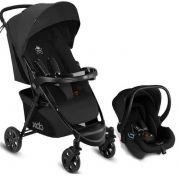 Carrinho de Bebê com Bebê Conforto preto - Cbx Woya
