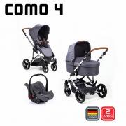 Carrinho de bebê COMO 4 Asphalt Diamond até 22 kg - Abc Design