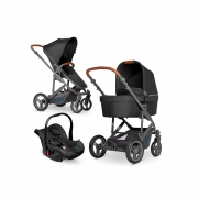 Carrinho de bebê COMO 4 Black - Abc Design