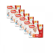 Fralda Huggies Supreme Care Jumbo Kit com 144 un Tam. M