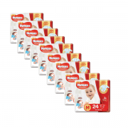 Fralda Huggies Supreme Care Jumbo Kit com 216 un Tam. M