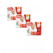 Fralda Huggies Supreme Care Jumbo Kit com 72 un Tam. M