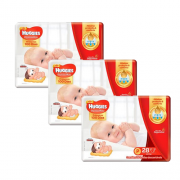 Fralda Huggies Supreme Care Jumbo Kit com 84 un Tam. P