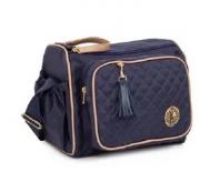Kit Bolsa de maternidade com frasqueira Atlanta Azul - Lequiqui