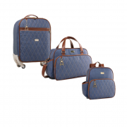 Kit bolsa maternidade chicago Jeans - Just baby