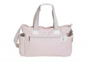 Kit bolsa maternidade com mala e mochila classic rosa - MB Baby