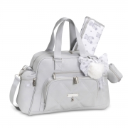 Kit Bolsa maternidade com Mochila Lu Urso Cinza - Masterbag Baby