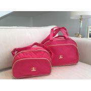 Kit bolsa maternidade - Coroa Pink