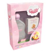 Kit colônia e sabonete para bebê meninas - Giovanna baby