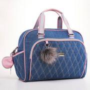 Kit de bolsa e mochila maternidade Havana Rosa - Just Baby
