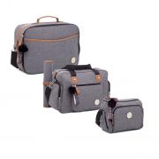 Kit de bolsa maternidade - Coleção Denver - Lequiqui