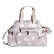 Kit de Bolsa Maternidade com 6 itens Bubble Rosa - Masterbag Baby