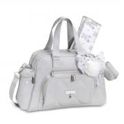 Kit de Bolsa Maternidade com 6 itens Urso Cinza - Masterbag Baby