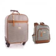 Kit de mala de rodinha e mochila maternidade Liverpool - Just Baby