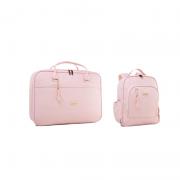 Kit Mala de Maternidade com mochila Milão Rosa - Just Baby