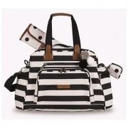 Kit mala de rodinha com bolsa de maternidade Brooklin - Masterbag Baby