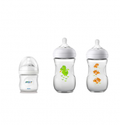 Kit Mamadeira Avent Pétala 125ml, 260ml Dragão e 260ml Tigre - Philips Avent