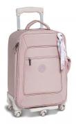 Kit mochila urban e mala de rodinha flora - masterbag baby