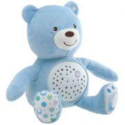 Luminária e Projetor Chicco First Dreams Bebê Urso - Azul