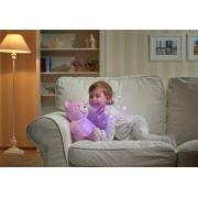 Luminária e Projetor Chicco First Dreams Bebê Urso - Rosa