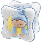 Luminária e Projetor Chicco First Dreams Rainbow Cube - Azul