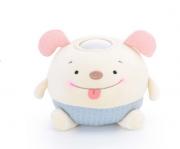 Luminária Infantil Metoo Cachorro orelha rosa - Metoo