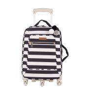 Mala de rodinha de maternidade Brooklin Preta - Masterbag Baby