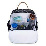 Mochila de maternidade Urban Manhattan Preta - Masterbag Baby