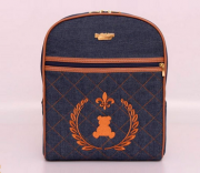Mochila Maternidade Jeans - Art Denim - By Children