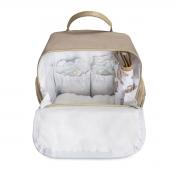 Mochila maternidade térmica Urban Caqui - Coleção Baby - Masterbag Baby
