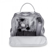 Mochila maternidade térmica Urban Nórdica Cinza - Masterbag Baby