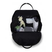 Mochila maternidade térmica Urban Nylon Glow preta - Masterbag Baby