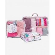 Organizador de mala de bebê - Brooklin rosa - Masterbag Baby