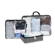 Organizador de mala de bebê - Manhattan Preta - Masterbag Baby