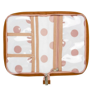 Porta Carteira de vacinação coleção Brooklin Rosa - Masterbag Baby