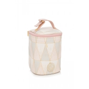 Porta mamadeira Luxor rosa - Lequiqui