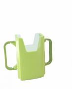 Porta suco de caixinha verde