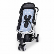 Protetor de carrinho Bubble azul - Masterbag Baby