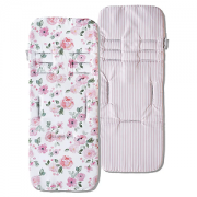 Protetor de carrinho Flora rosa - Masterbag Baby