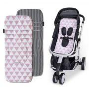 Protetor de carrinho Manhattan Rosa - Masterbag Baby